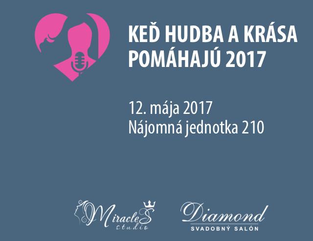 6fe1725f7 Keď hudba a krása pomáhajú 2017 - Kam v meste | moja Nitra
