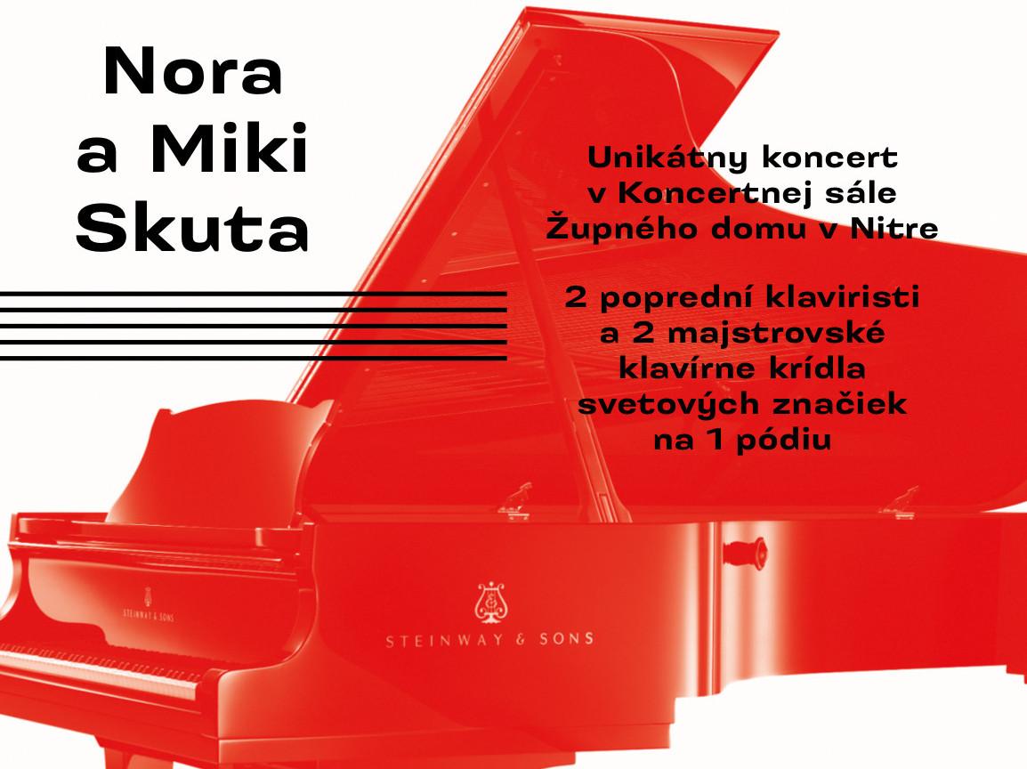 Nora a Miki Skuta - Kam v meste  4c075394a85