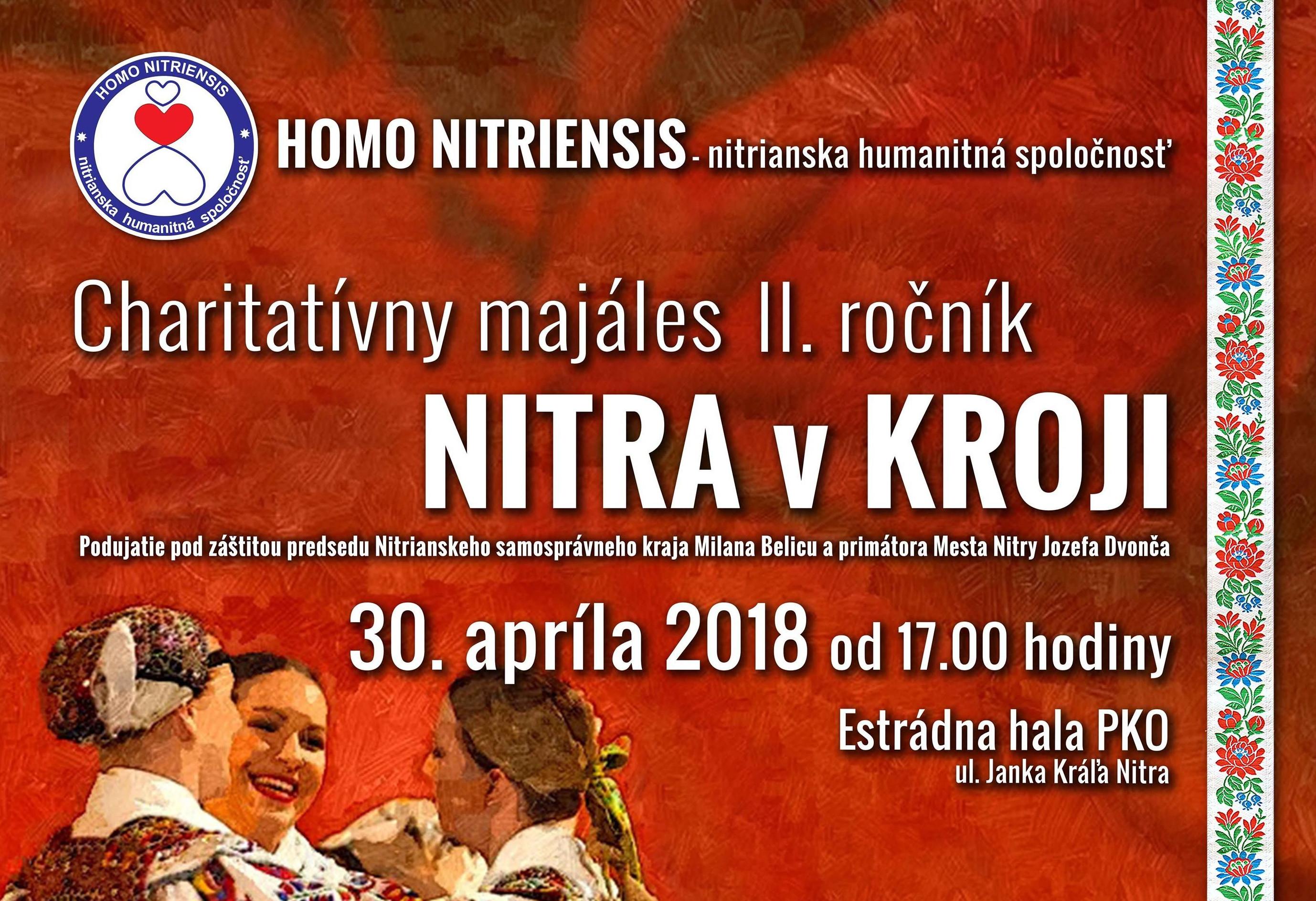 c4a31be3e535b Charitatívny Majáles NITRA v KROJI 2018 - Kam v meste | moja Nitra